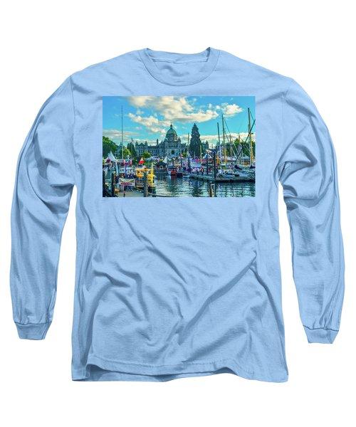 Victoria Harbor Boat Festival Long Sleeve T-Shirt
