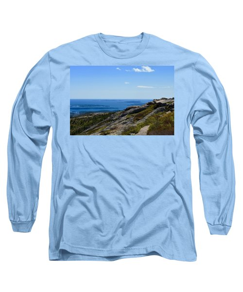 View From Cadillac Mountain Long Sleeve T-Shirt