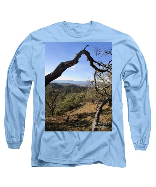 View From Cathedral Hills Long Sleeve T-Shirt