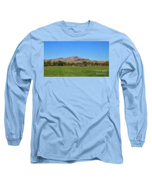 View From Gem Island Sport Complex Long Sleeve T-Shirt