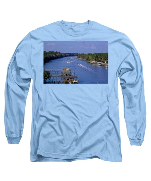 View From The Bridge Of Lions Long Sleeve T-Shirt