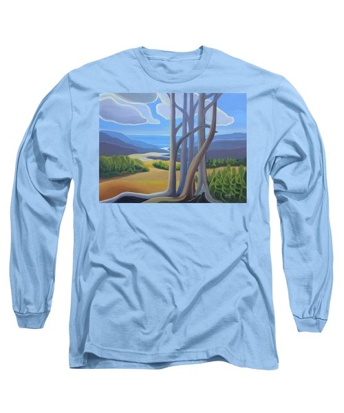 View Of The Lake Long Sleeve T-Shirt