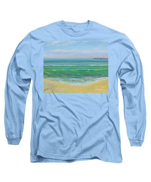 View To The Pier Long Sleeve T-Shirt