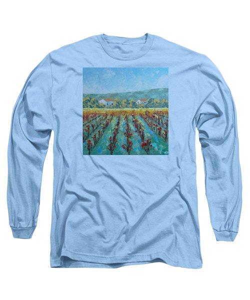 Vigne De Provence Long Sleeve T-Shirt