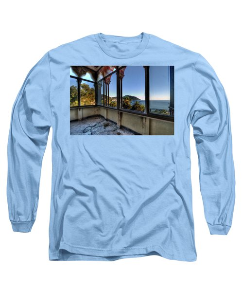 Villa Of Windows On The Sea - Villa Delle Finestre Sul Mare II Long Sleeve T-Shirt