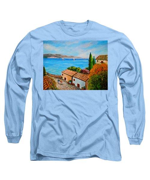 Village Perigiali / Greece Long Sleeve T-Shirt