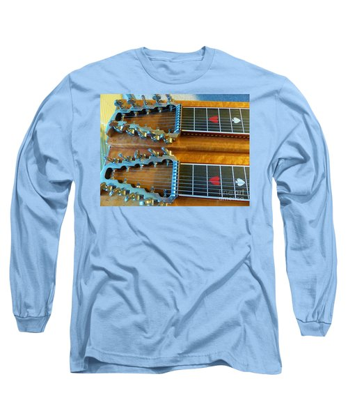 Vintage Sho-bud Pedal Steel Long Sleeve T-Shirt