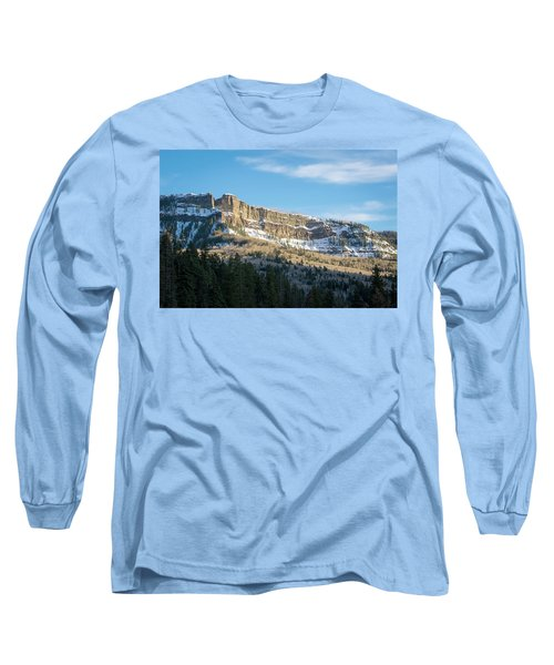Volcanic Cliffs Of Wolf Creek Pass Long Sleeve T-Shirt