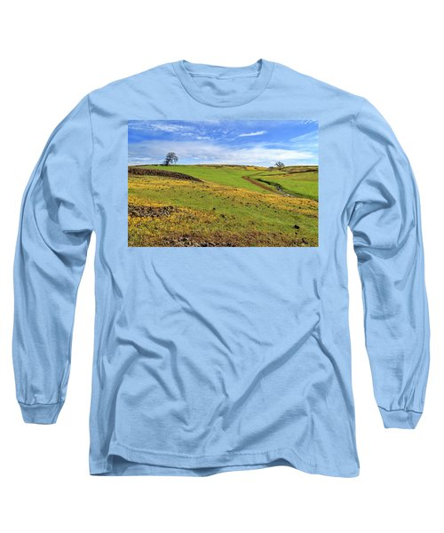 Long Sleeve T-Shirt featuring the photograph Volcanic Spring by James Eddy