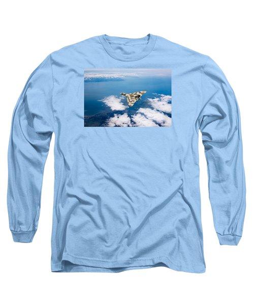 Vulcan Over South Wales Long Sleeve T-Shirt