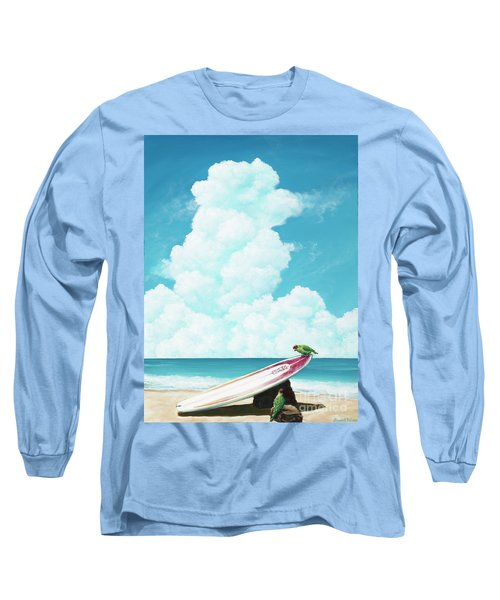 Waiting For Surf Long Sleeve T-Shirt