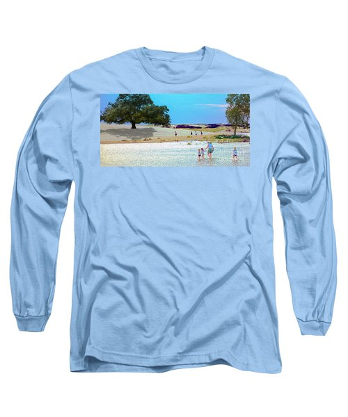 Waiting In The Water Long Sleeve T-Shirt