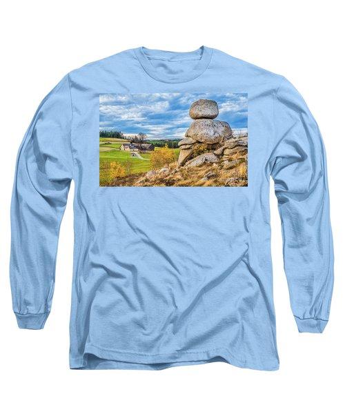 Waldviertel Long Sleeve T-Shirt by JR Photography