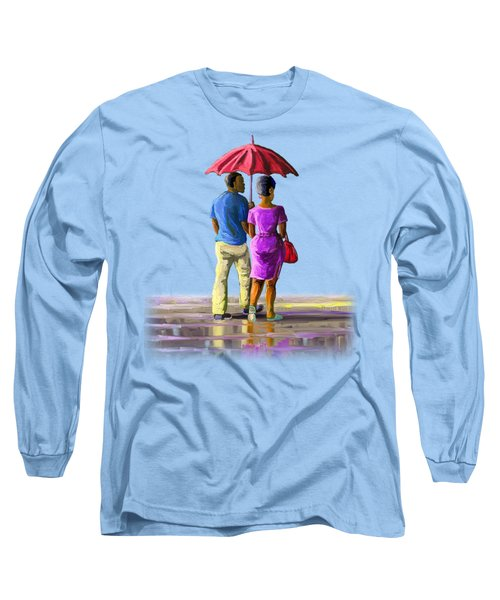 Walk In The Rain Long Sleeve T-Shirt