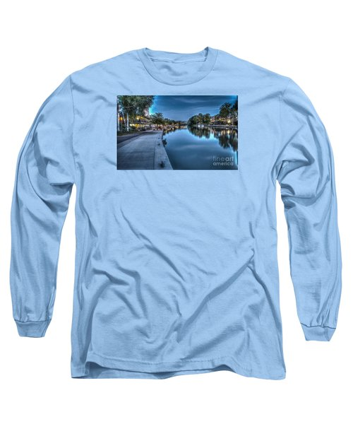 Walk On The Canal Long Sleeve T-Shirt
