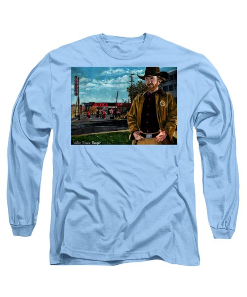 Walker Texaco Ranger Long Sleeve T-Shirt