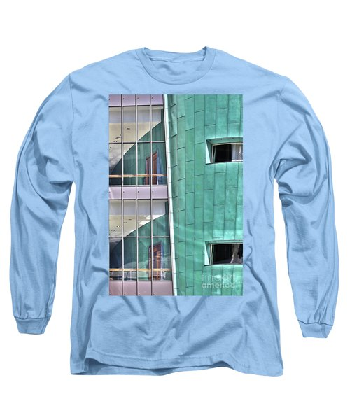 Wall Of Windows Long Sleeve T-Shirt