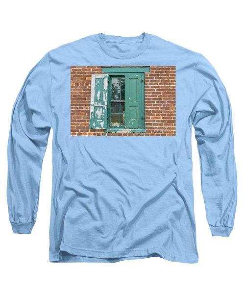 Warehouse Window With Shutter Long Sleeve T-Shirt