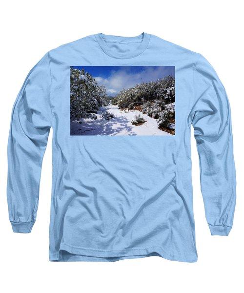 Warner Springs Snow Long Sleeve T-Shirt