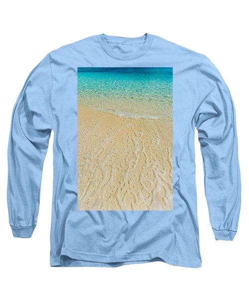 Water Abstract 1 Long Sleeve T-Shirt