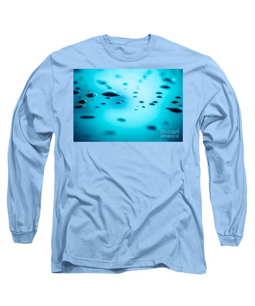 Water Drops On Surface 5 Long Sleeve T-Shirt