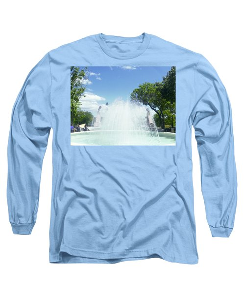 Water Fountain Ponce, Puerto Rico Long Sleeve T-Shirt