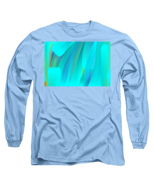 Water Long Sleeve T-Shirt by George Pedro