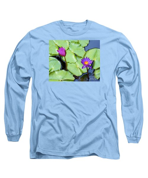 Water Lily 2 Long Sleeve T-Shirt