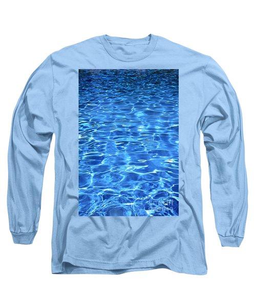 Water Shadows Long Sleeve T-Shirt