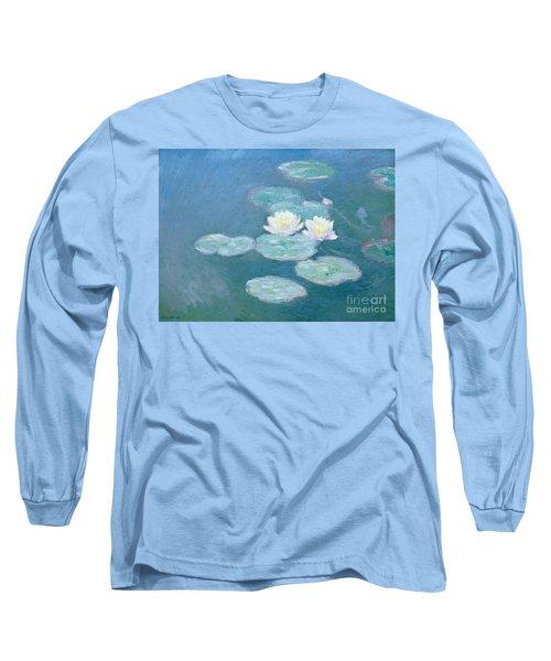 Waterlilies Evening Long Sleeve T-Shirt