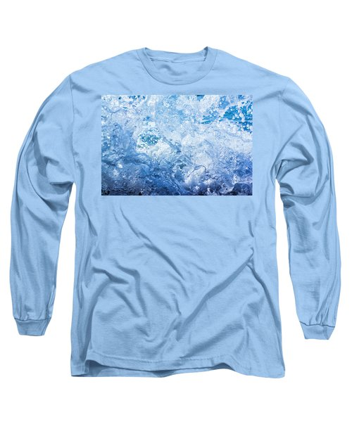 Wave With Hole Long Sleeve T-Shirt