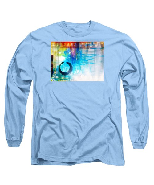 Wave Long Sleeve T-Shirt by France Laliberte