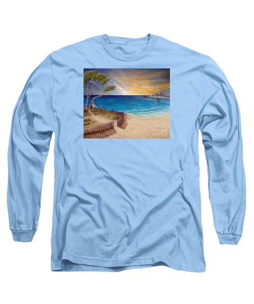 Way To Escape Long Sleeve T-Shirt by Kimberlee Baxter