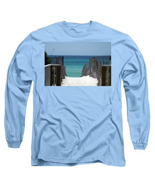 Way To The Beach Long Sleeve T-Shirt