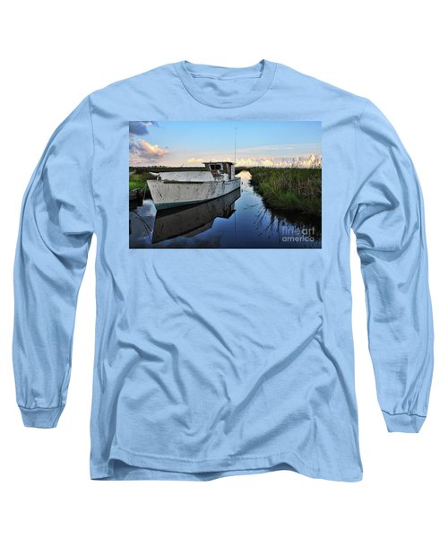 Weathered Reflection Long Sleeve T-Shirt