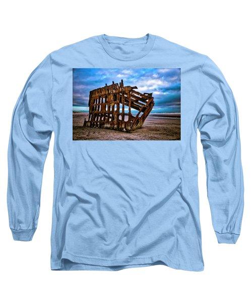 Weathered Shipwreck Long Sleeve T-Shirt