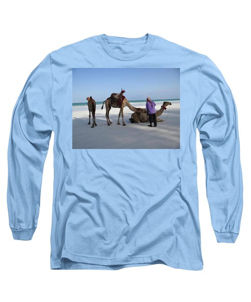 Wedding Camels In The Waiting ... Long Sleeve T-Shirt