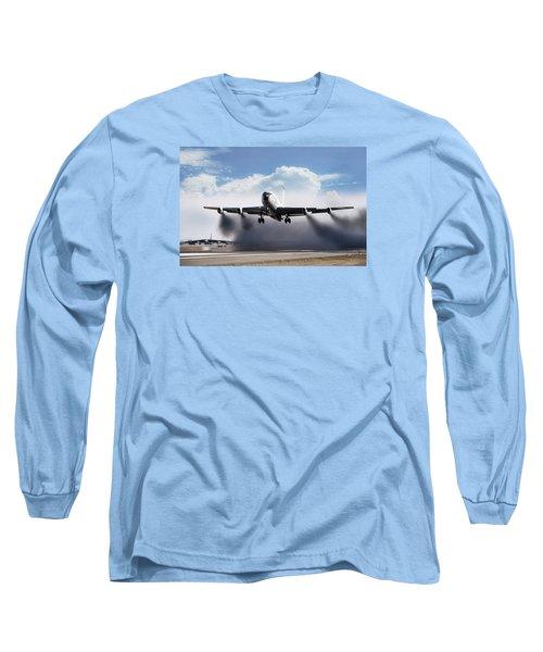 Wet Takeoff Kc-135 Long Sleeve T-Shirt