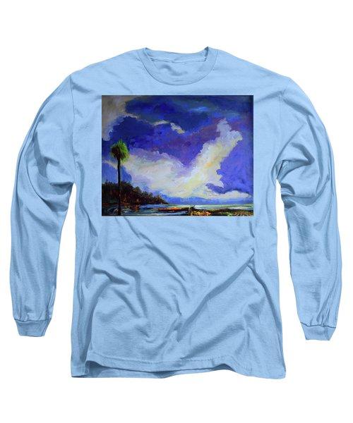 Wetlands Sky  Long Sleeve T-Shirt