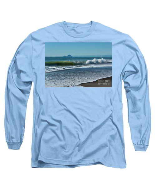 Long Sleeve T-Shirt featuring the photograph Whale Island by Werner Padarin