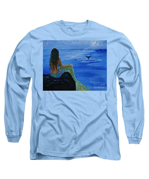Whale Watcher Long Sleeve T-Shirt