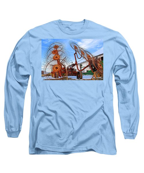 Wheel Rake Upside Down 2 Long Sleeve T-Shirt