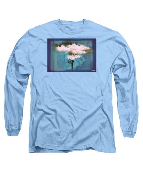 Where Dreams Are Born Long Sleeve T-Shirt by Paulo Zerbato