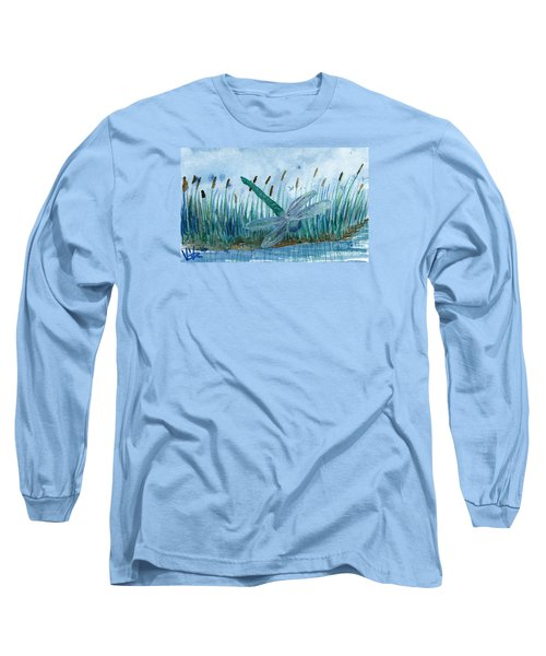 Whispering Cattails Long Sleeve T-Shirt
