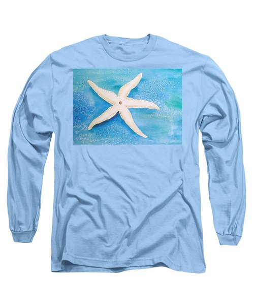 White Starfish Long Sleeve T-Shirt