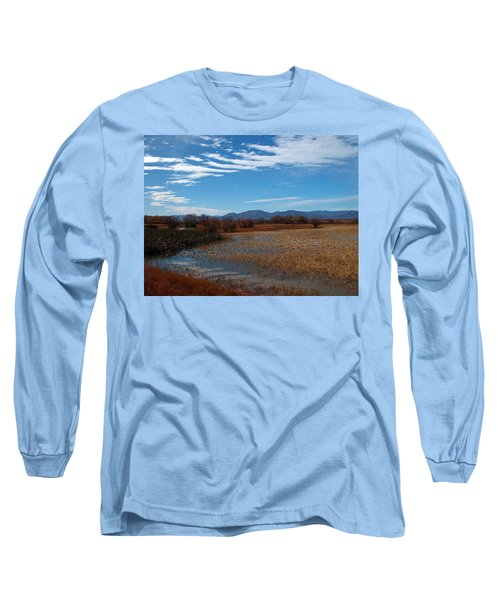 Long Sleeve T-Shirt featuring the photograph Whitewater Draw by James Peterson