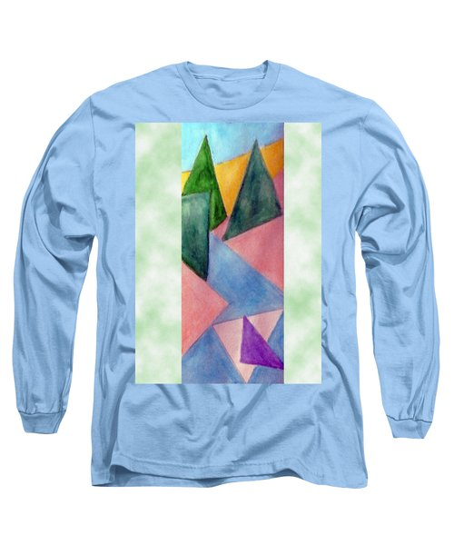 Whitewater Raft Long Sleeve T-Shirt