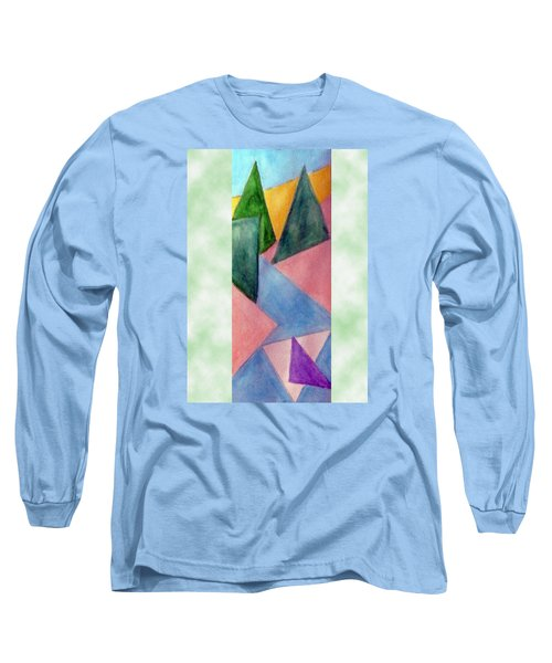 Whitewater Raft Long Sleeve T-Shirt