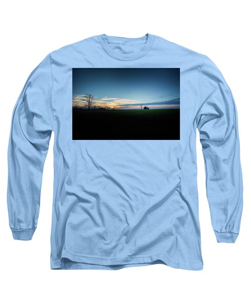 Long Sleeve T-Shirt featuring the photograph Wide Open Spaces by Shane Holsclaw