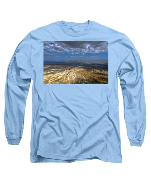 Wide View From Masada Long Sleeve T-Shirt